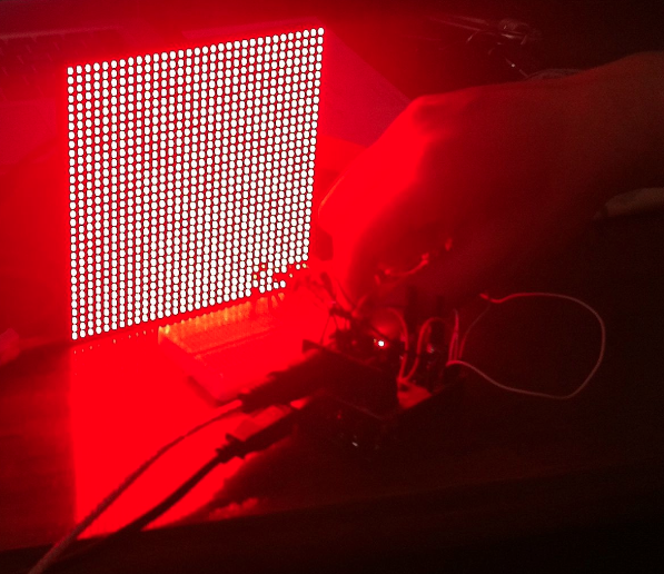 """MIDI LED Matrix"" - Diego Casillas"